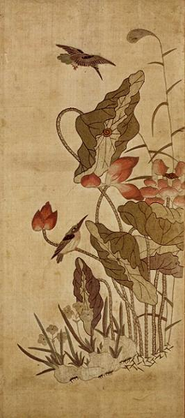刺繍花鳥図十曲屏風 (ししゅうかちょうずじっきょくびょうぶ)